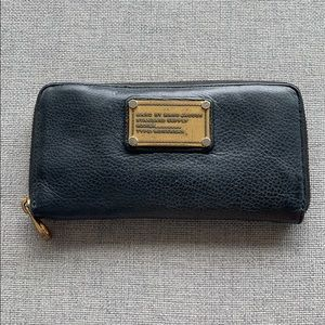 Classic Black Leather Marc by Marc Jacobs Wallet